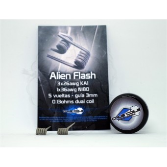 Alien Flash 0.13ohms Dual Coil de Chus Coils