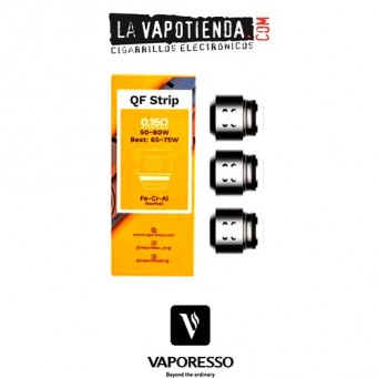 Resistencia QF Strip 0,15Ω (3pcs) - Vaporesso
