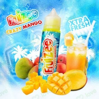 Fruizee Crazy Mango de Eliquid France