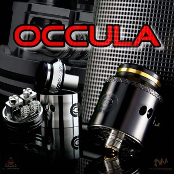 OCCULA RDA by Augvape & Twistedmesses Black