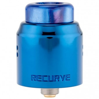 Recurve Dual Coil RDA by Wotofo BLUE