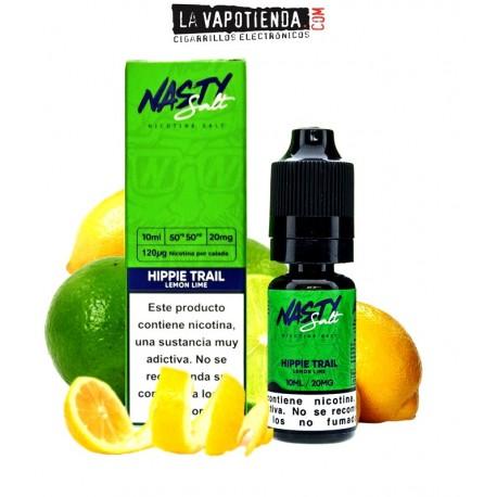 Hippie Trail Lemon Lime   Sales de nicotina 10 ml  Nasty Salt