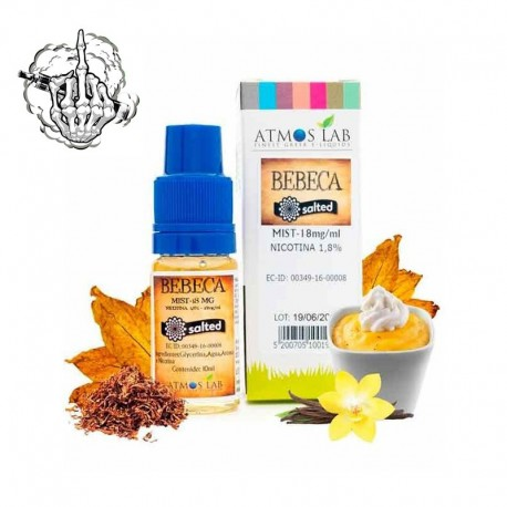 Sales de nicotina Bebeca TDP 10ml de Atmos Lab 18MG