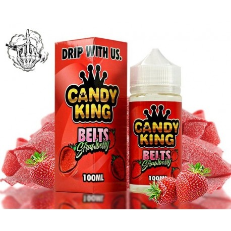 Belts Strawberry  Candy King 100 ml by Drip More