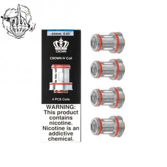 Resistencias Crown IV 0.23 Ohms de Uwell