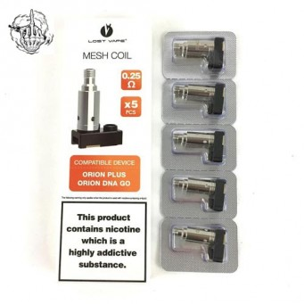 Resistencias Mesh para Orion Plus DNA de Lost Vape