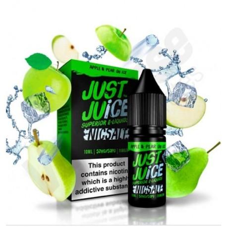 Apple & Pear on Ice 20mg Sales de nicotina 10ml Just Juice
