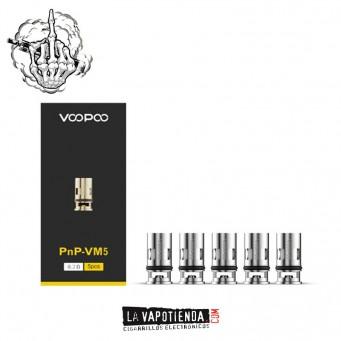 Resistencia  Drag S y X  PnP-VM5 0,2 Ohm by Voopoo
