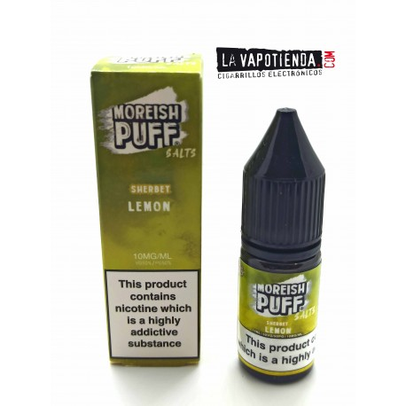 Lemon de Moreish Puff Sales de Nicotina