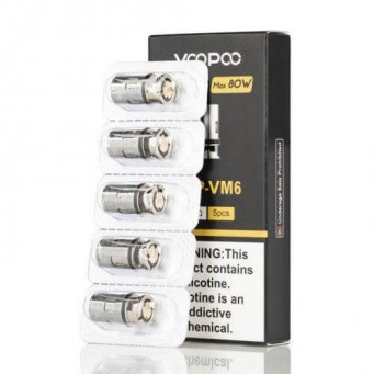 Resistencias PnP-VM6 0,15 Ohm (5pcs) by Voopoo