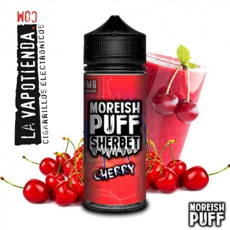 Sherbet Cherry 100ml by Moreish Puff