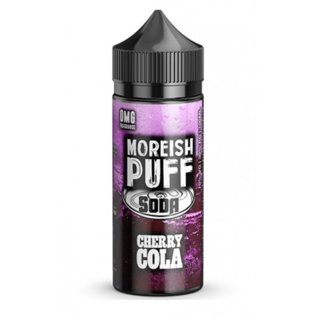 Cherry Cola Soda 100ml by Moreish Puff