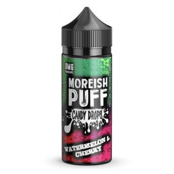 Watermelon and Cherry Candy Drops 100ml by Moreish Puff