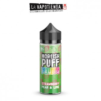 Strawberry Pear & Lime Fruits 100ml by Moreish Puff