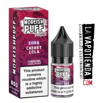 Cherry Cola 10ml by Moreish Puff - Sales de Nicotina