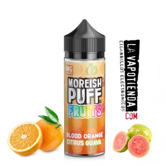 Blood Orange Citrus Guava Fruits 100ml by Moreish Puff
