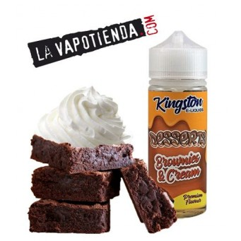 Brownies & Cream de Kingston Eliquid 100ml