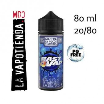 Base ultra rápida 20PDO/80VG 80ml de Oil4Vap