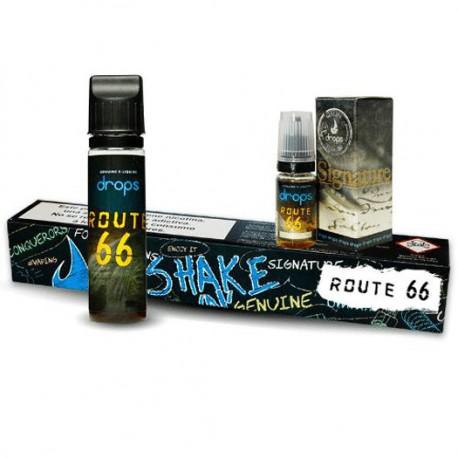 Route 66 Shake n'vape 60ml  DROPS 3mg