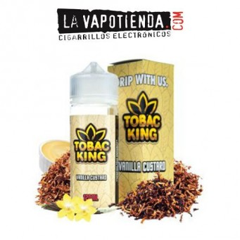 Vanilla Custard Tobac King 100 ML by Drip More