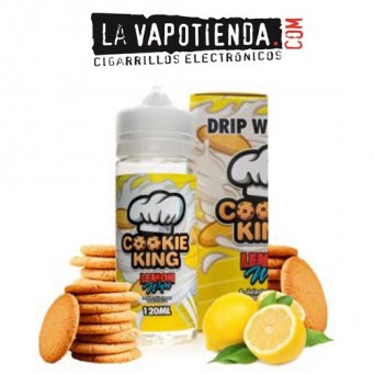 Lemon Wafer Cookie King 100 ML by Drip More