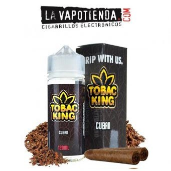Cuban Tobac King 100 ML by Drip More
