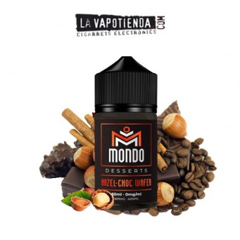 Hazel Choc Wafer 50ml de Mondo E-liquids