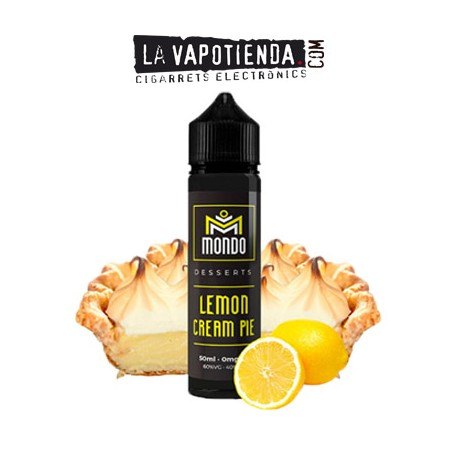 Lemon Cream Pie 50ml de Mondo E-liquids