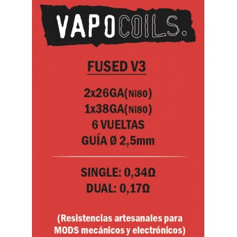 Fused V3 Vapocoils