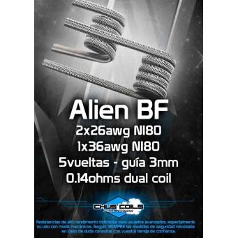 Alien BF 0.14ohms Dual Coil de Chus Coils