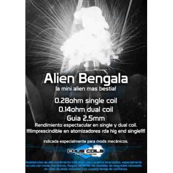 Alien Bengala 0.28 ohms  de Chus Coils