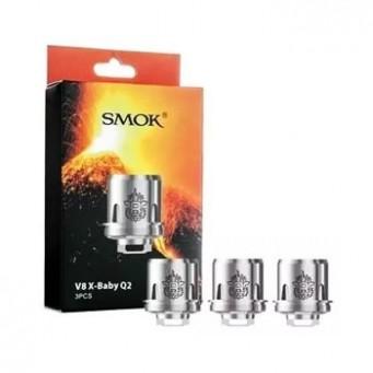 Resistencia Smok V8 X Baby Q2 (3pcs)