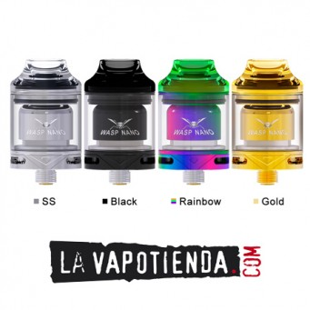 Wasp Nano RTA by Oumier Gold