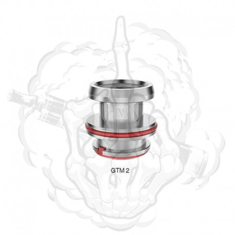Resistencia GTM2 Dual Coil 0.4 Cascade Vaporesso
