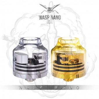 Wasp Nano RDA de Oumier Transparente