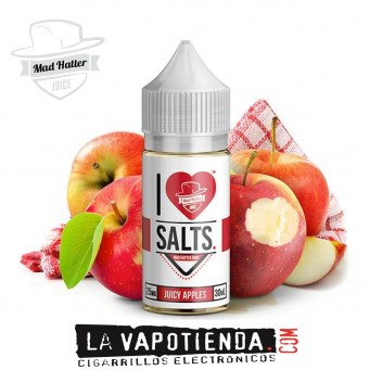 Juicy Apples 10ml TPD - Mad Hatter I Love Salt