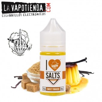Sweet Tobacco 10ml TPD - Mad Hatter I Love Salt